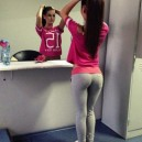 Chicas perfectas con ropa deportiva